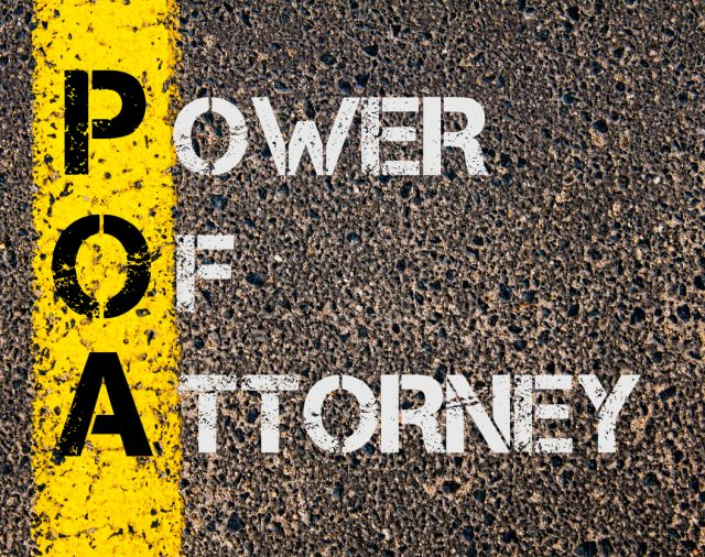 I have Health and Welfare Power of Attorney over a relative:  What is my role?
